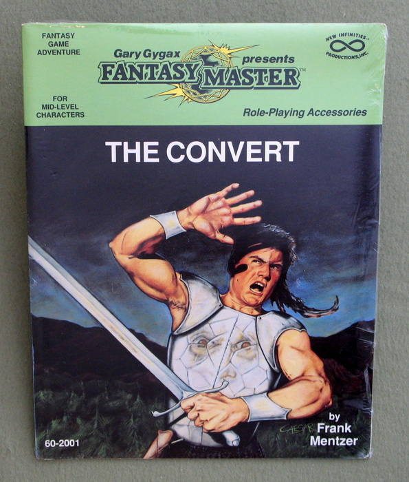 Image for The Convert (Gary Gygax presents Fantasy Master, For mid-level characters)