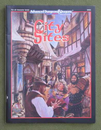 Image for City Sites (Advanced Dungeons and Dragons 2nd Edition)