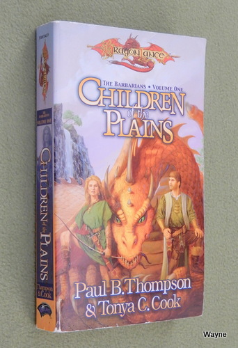 Image for Children of the Plains (Dragonlance Barbarians, Vol. 1)