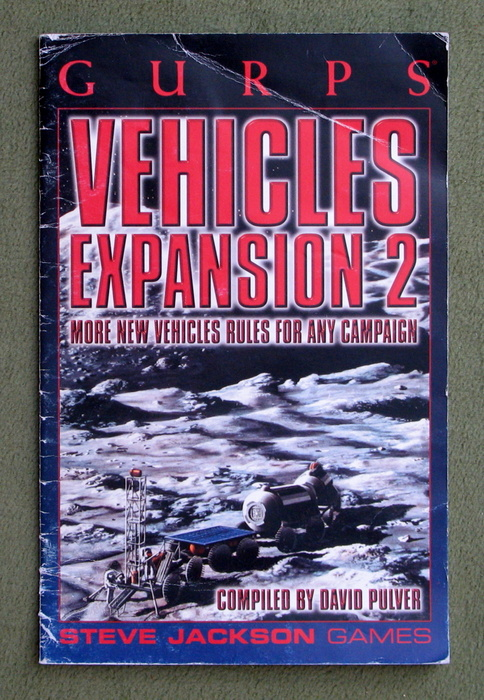 Image for GURPS Vehicles Expansion 2 - PLAY COPY