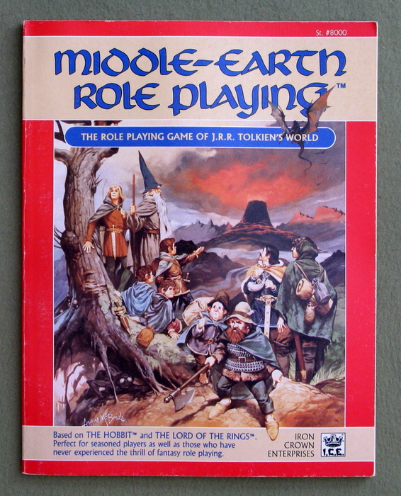 Image for Middle Earth Role Playing, 1st Edition Revised (MERP)