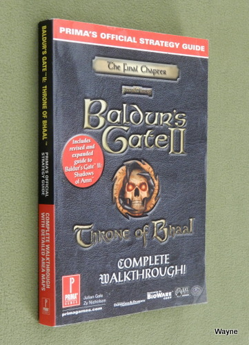 Image for Baldur's Gate 2: Throne of Bhaal: Official Strategy Guide (Complete Walkthrough)