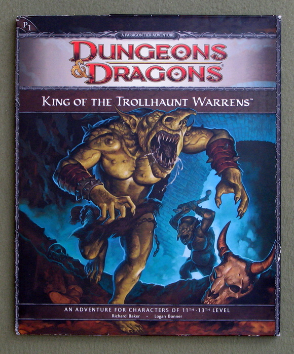 Image for King of the Trollhaunt Warrens (Dungeons & Dragons Adventure P1)