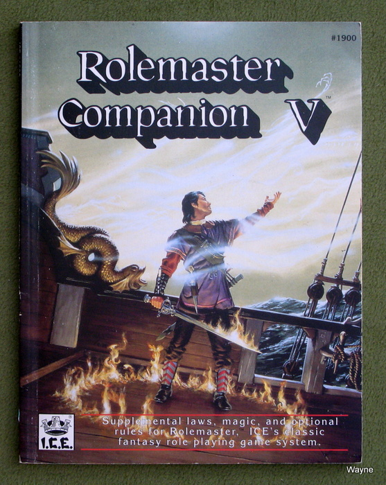 Image for Rolemaster Companion V