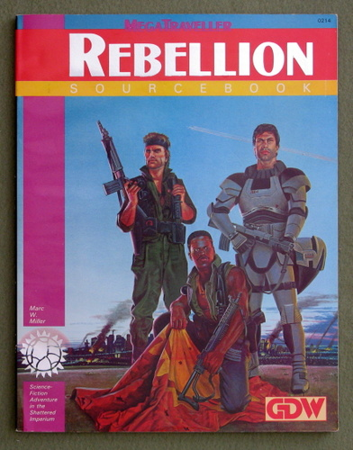 Image for Rebellion Sourcebook (MegaTraveller)