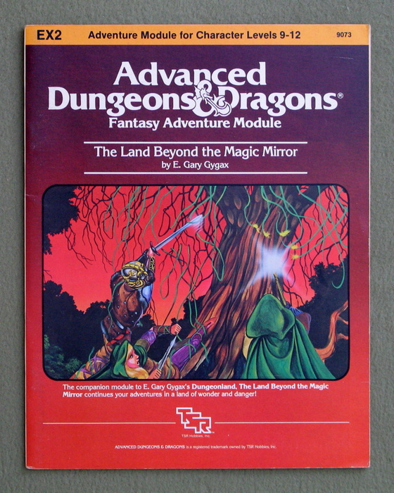 Image for The Land Beyond the Magic Mirror (Advanced Dungeons & Dragons Module EX2)