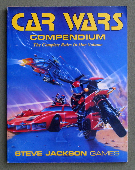 Image for Car Wars Compendium: The Complete Rules in One Volume (1st Edition)