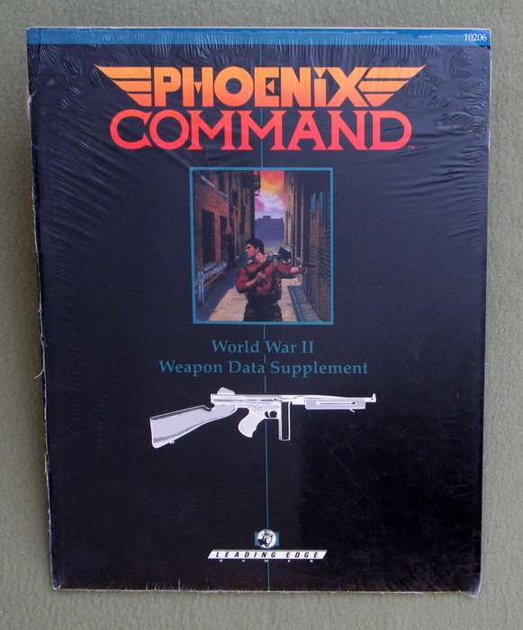 Image for World War II Weapon Data Supplement (Phoenix Command)