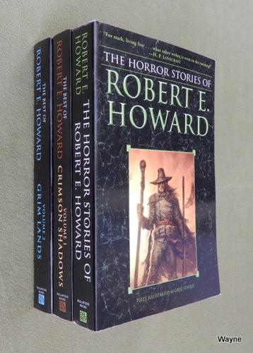 Image for Horror Stories and Best of Robert E. Howard (3 book set)