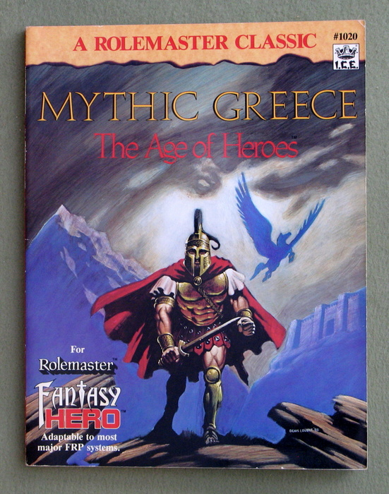 Image for Mythic Greece: The Age of Heroes (Rolemaster)