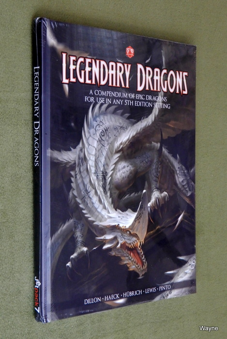Image for Legendary Dragons: A Compendium of Epic Dragons for 5th Edition Dungeons & Dragons