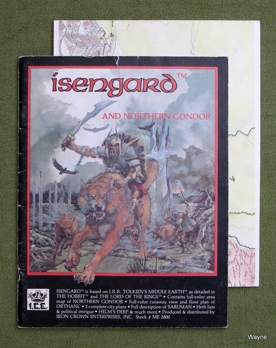 Image for Isengard & Northern Gondor (Middle Earth Role Playing/MERP) - PLAY COPY