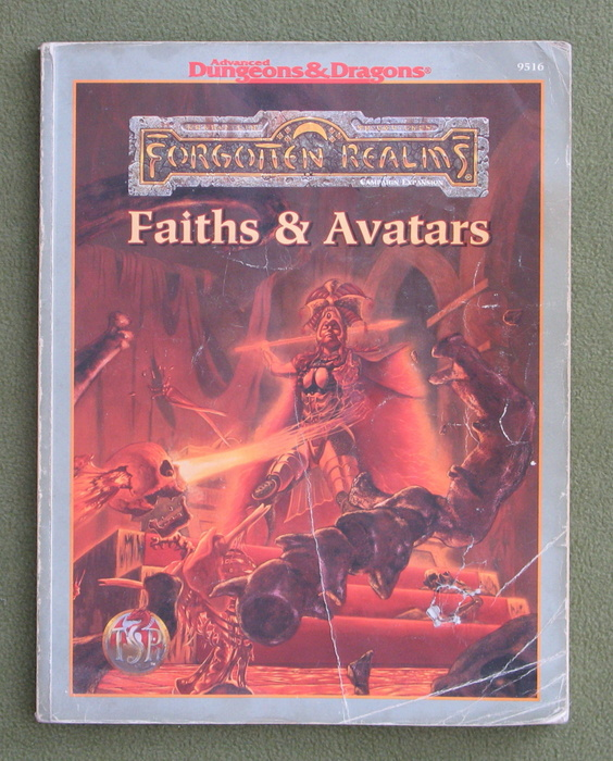 Image for Faiths & Avatars (Forgotten Realms) - HEAVY WEAR