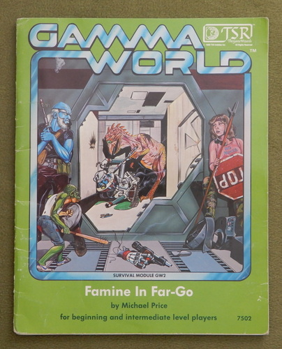Image for Famine in Far-Go (Gamma World GW2) - PLAY COPY