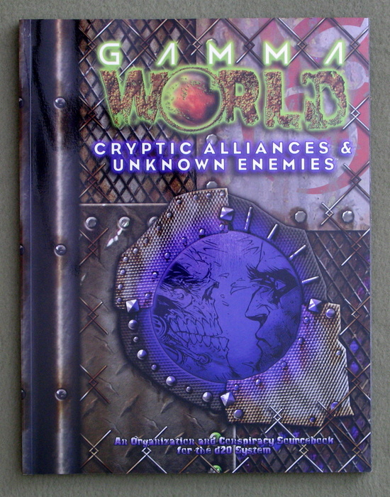Image for Cryptic Alliances & Unknown Enemies (Gamma World d20 3.5 Roleplaying)