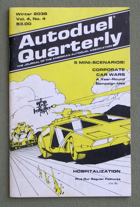Image for Autoduel Quarterly: Vol. 4, No. 4 (Car Wars)