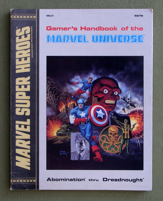 Image for Gamer's Handbook of the Marvel Universe (MU1): Abomination thru Dreadnought (Marvel Super Heroes)