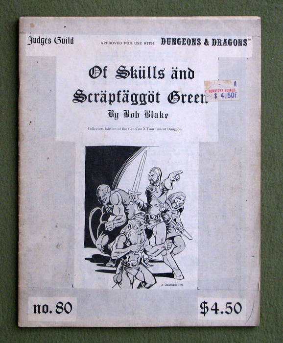 Image for Of Skulls and Scrapfaggot Green (Dungeons & Dragons) - PLAY COPY