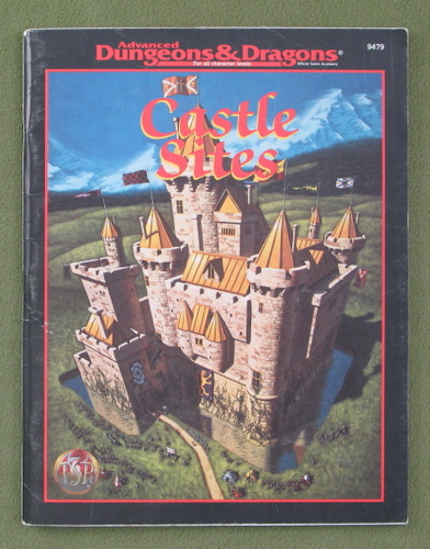 Image for Castle Sites (Advanced Dungeons & Dragons)