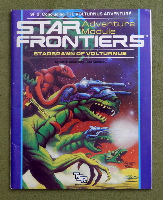 Image for Starspawn of Volturnus (Star Frontiers Module SF2)