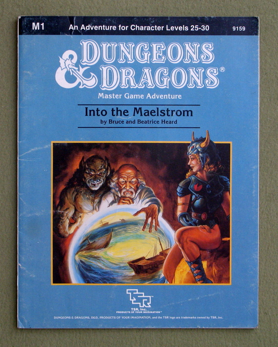 Image for Into the Maelstrom (Dungeons & Dragons Module M1) - PLAY COPY