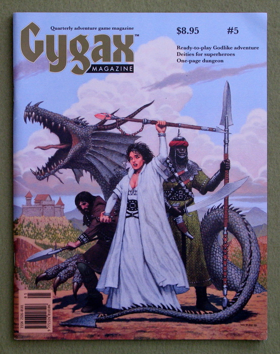Image for Gygax Magazine, Issue 5 - SIGNED