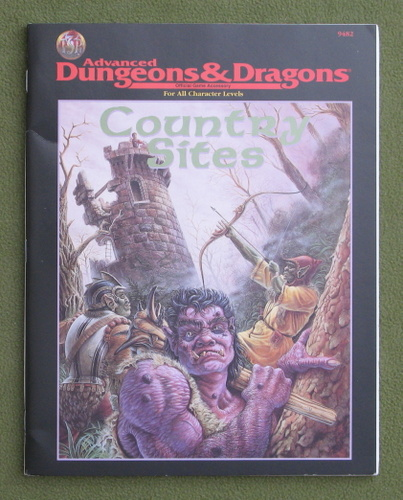 Image for Country Sites (Advanced Dungeons & Dragons)
