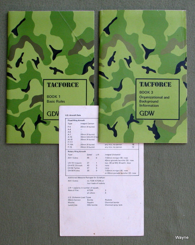 Image for TACFORCE: Book 1, Book 3, and reference card