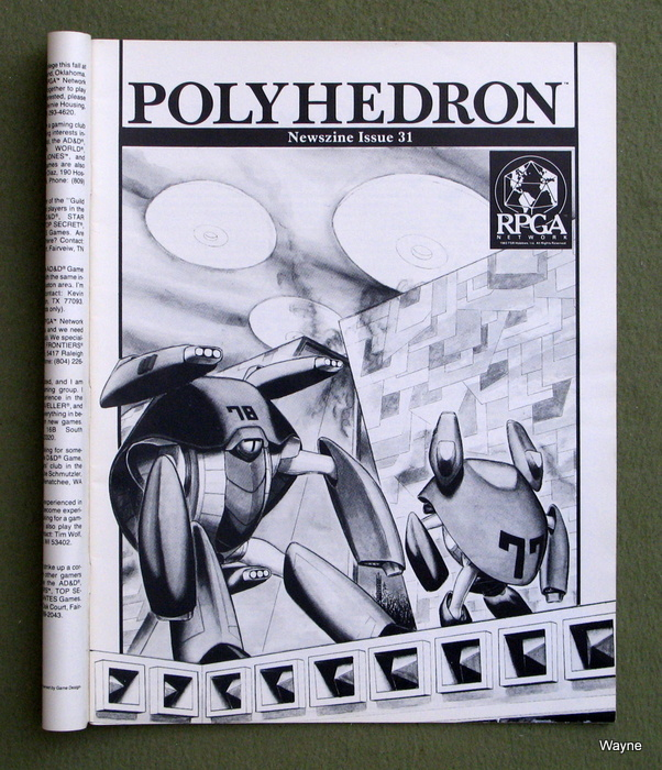 Image for Polyhedron Magazine, Issue 31