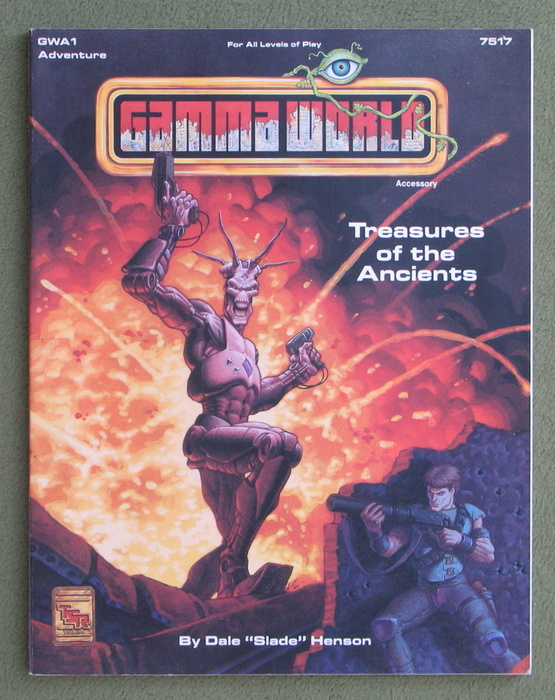 Image for Treasures of the Ancients (Gamma World) - MISSING ROBOT POSTER