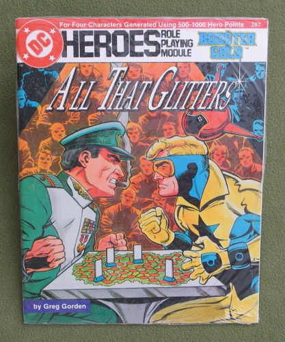 Image for All That Glitters (DC Heroes RPG)