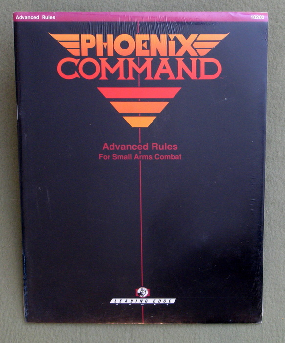 Image for Advanced Rules for Small Arms Combat (Phoenix Command RPG)