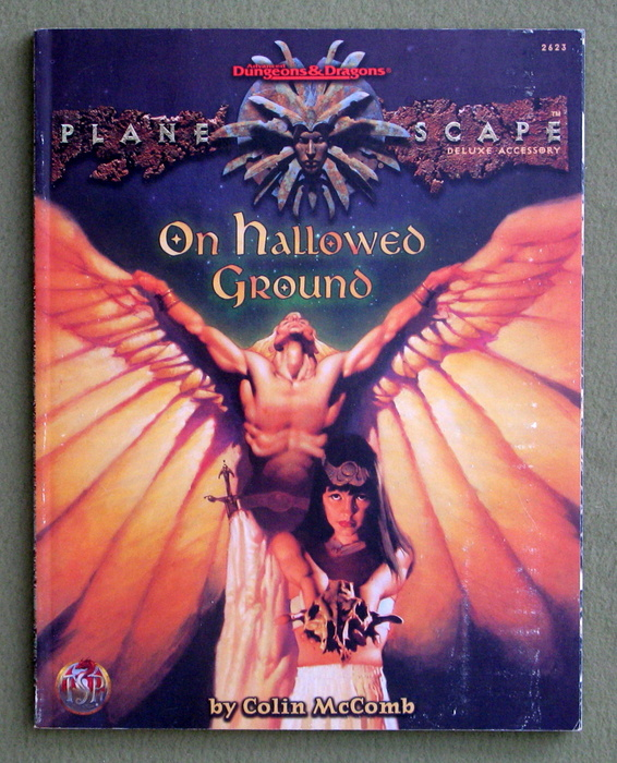 Image for On Hallowed Ground (Advanced Dungeons & Dragons: Planescape)