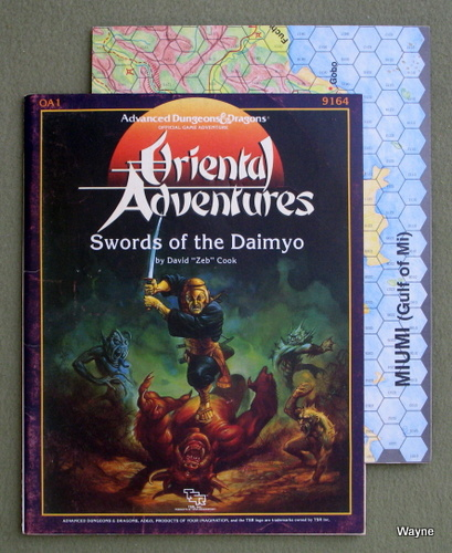 Image for Swords of the Daimyo: Module OA1 (Advanced Dungeons & Dragons: Oriental Adventures)