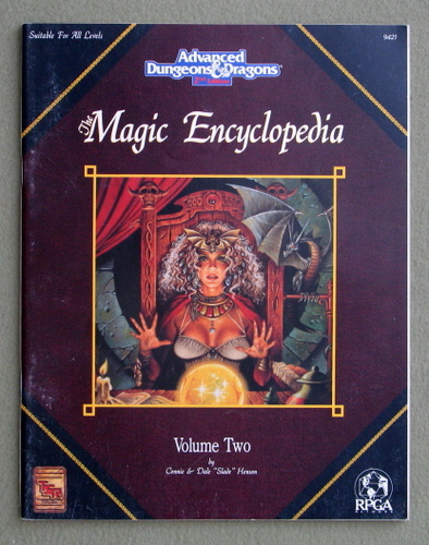 Image for Magic Encyclopedia, Vol. 2 (Advanced Dungeons & Dragons, 2nd Edition)