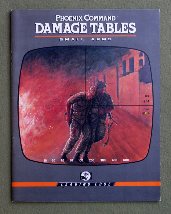Image for Damage Tables for Small Arms (Phoenix Command)
