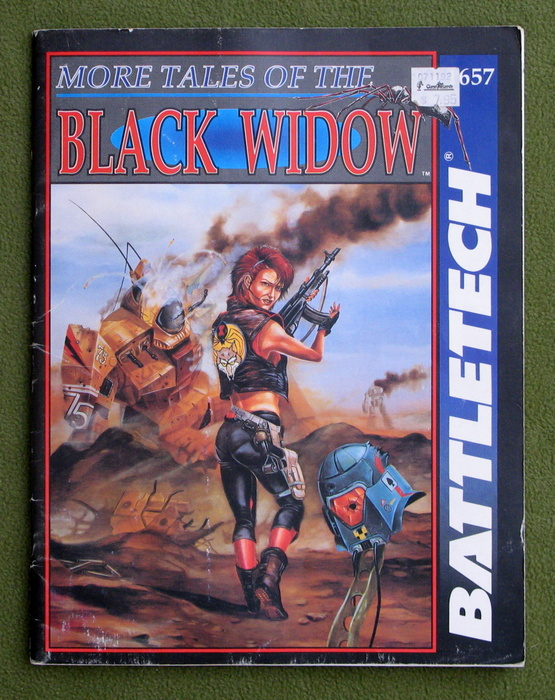 Image for More Tales of the Black Widow (Battletech) - PLAY COPY