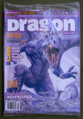 Image for Dragon Magazine, Issue 342