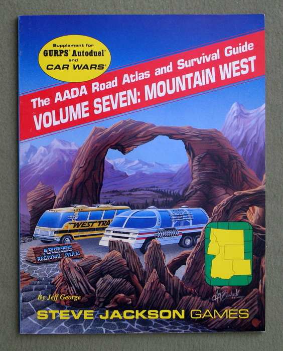 Image for The AADA Road Atlas and Survival Guide, Volume Seven: Mountain West (GURPS Autoduel/Car Wars)