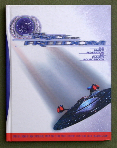 Image for The Price of Freedom: The United Federation of Planets Sourcebook (Star Trek Next Generation Roleplaying Game)