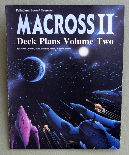 Image for Macross II: Spacecraft Deck Plans, Volume Two