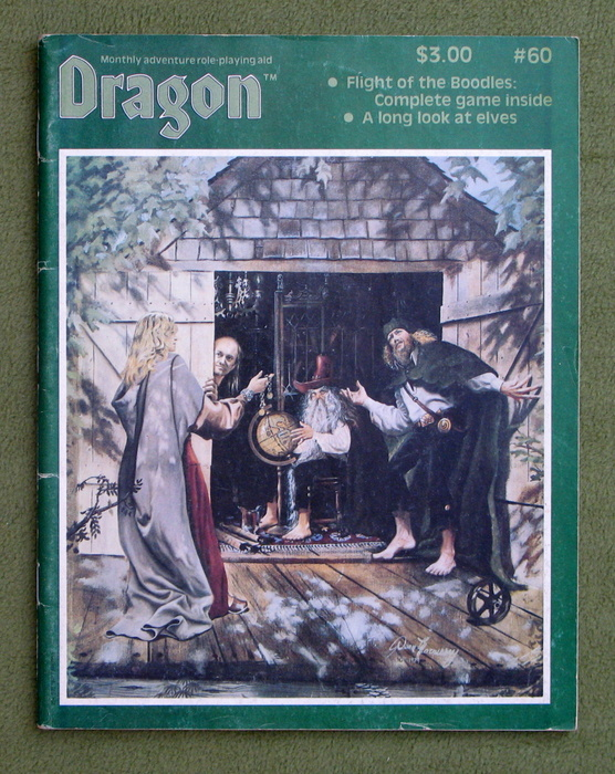 Image for Dragon Magazine, Issue 60 - MISSING GAME INSERT - COVER WEAR