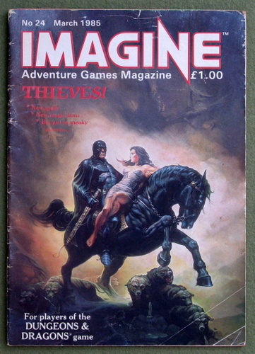 Image for Imagine Magazine, Issue 24 (March 1985) - READING COPY