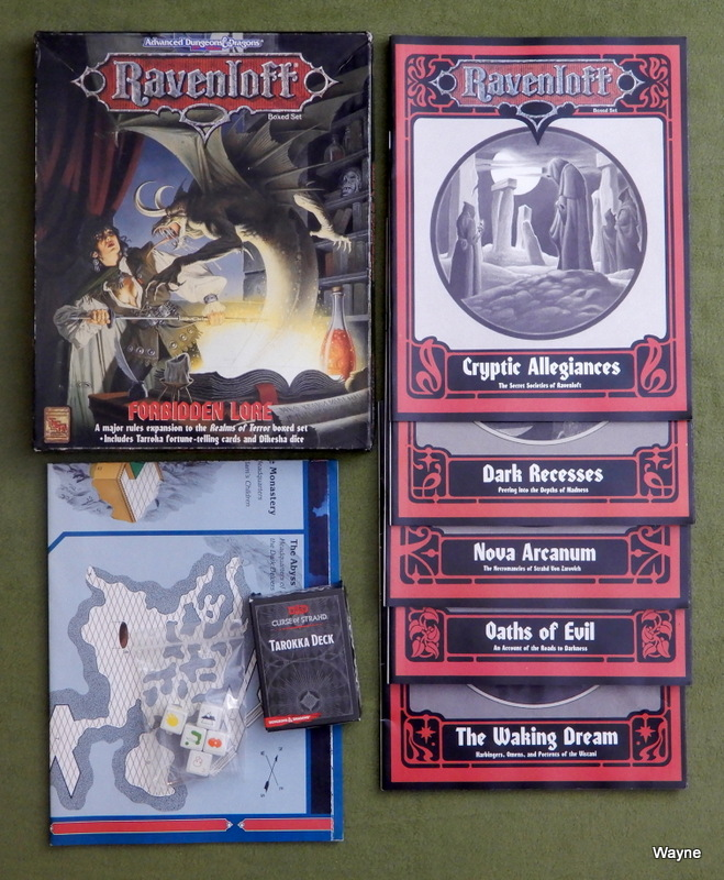 Image for Forbidden Lore (Advanced Dungeons & Dragons: Ravenloft) - PLAY SET
