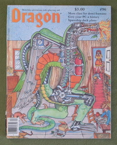 Image for Dragon Magazine, Issue 96 - WORN