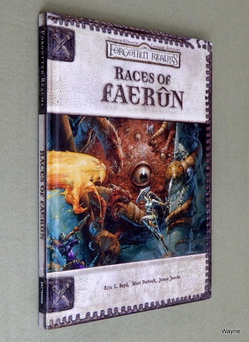 Image for Races of Faerun (Dungeons & Dragons d20 3.0 Fantasy Roleplaying, Forgotten Realms Setting)