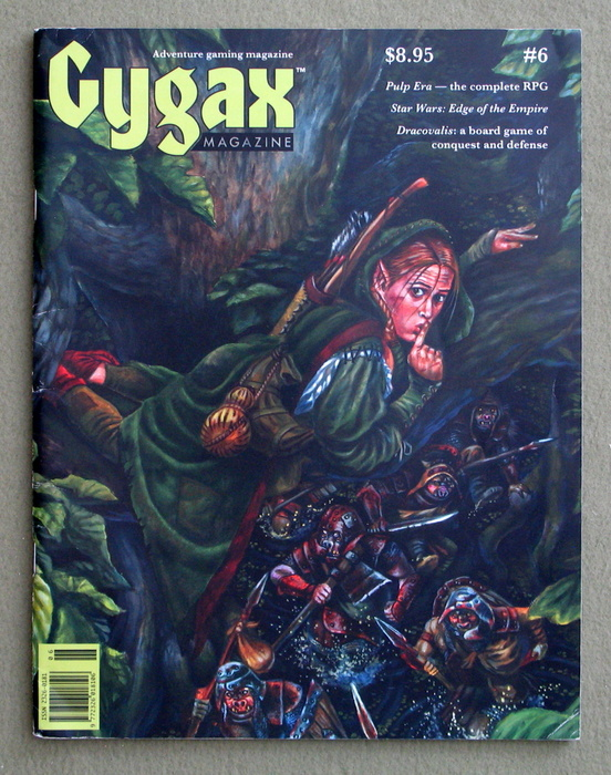 Image for Gygax Magazine, Issue 6 - SIGNED