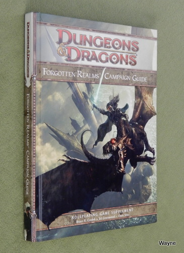 Image for Forgotten Realms Campaign Guide (Dungeons & Dragons, 4th Edition)