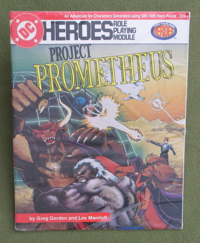Image for Project Prometheus (DC Heroes RPG)