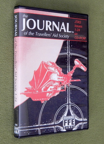 Image for Journal of the Travellers' Aid Society: JTAS Issues 1-24 on CD-ROM
